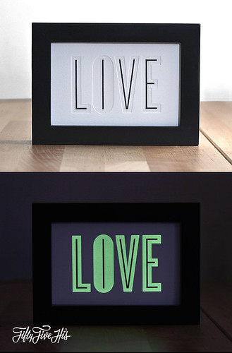 Live/Love Print | by 55His.com