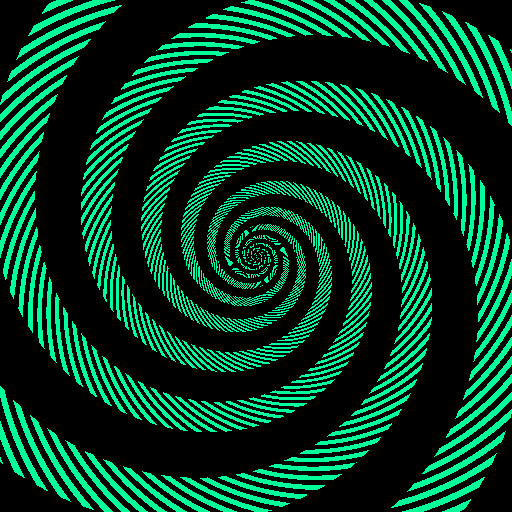 Optical Illusion color swirls 2