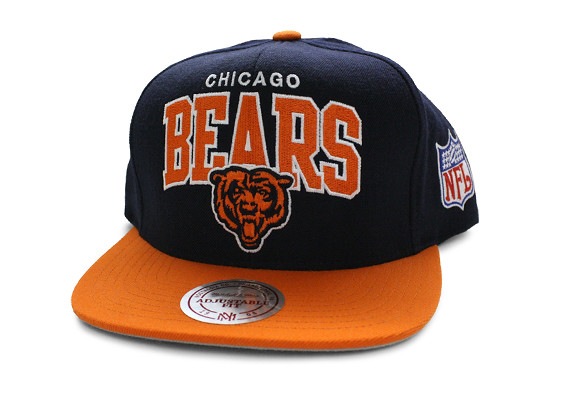 Nfl Mitchell Amp Ness Chicago Bears Snapback Hats Cap Flickr