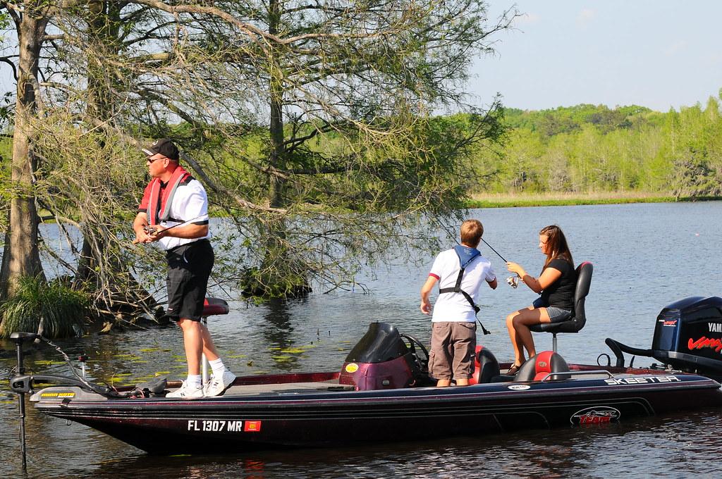 Fishing lake talquin photo tim donovan fwc florida for Florida fish and wildlife jobs