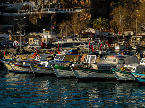 Fishing Boats in Antalya | by virtualwayfarer