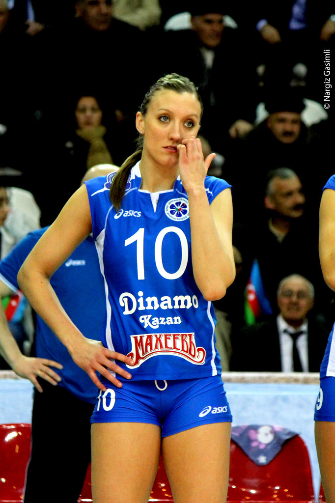 2012 CEV Volleyball Champions League Azerrail BAKU Dina