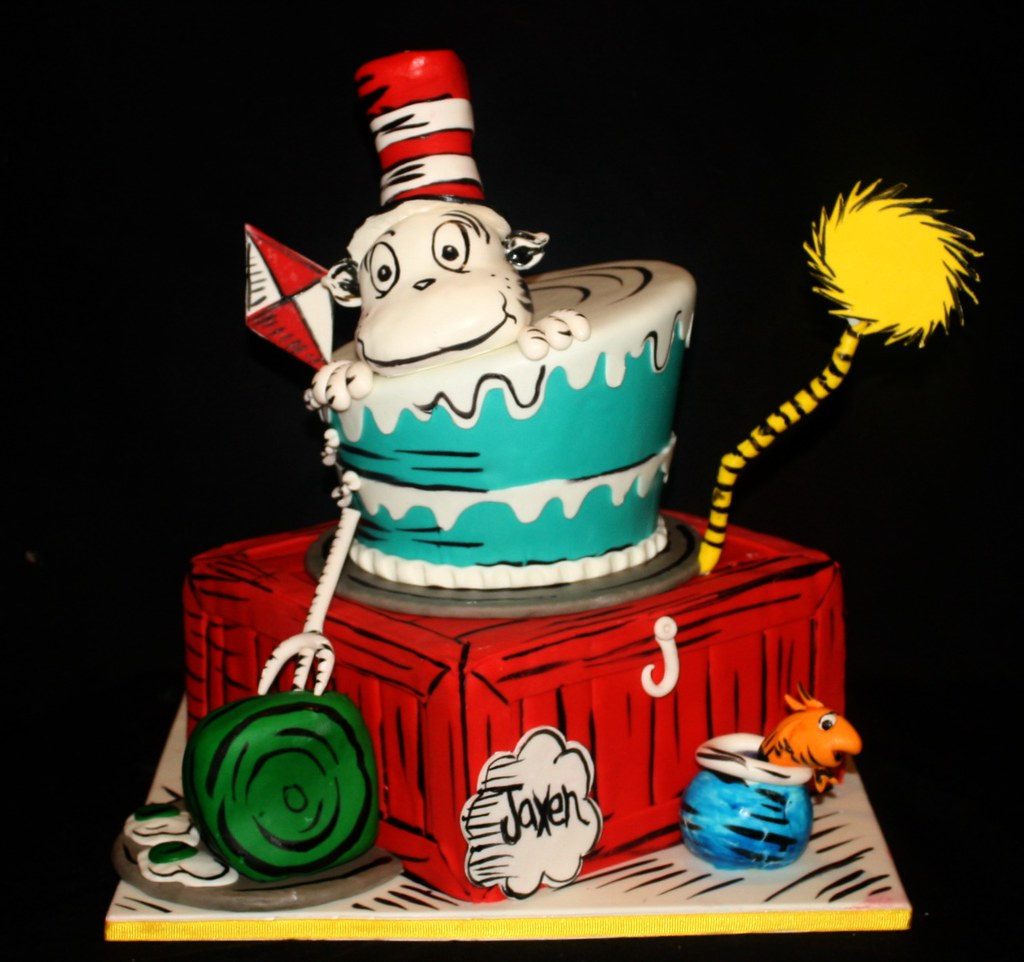 Cat In The Hat Cake Pan