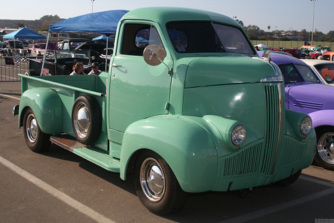 "1941 Studebaker COE | M series ""cab over engine"" pickup ..."