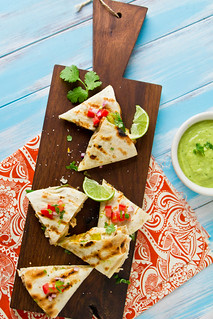 Grilled Avocado & Chicken Quesadillas | by TheBrewer&TheBaker