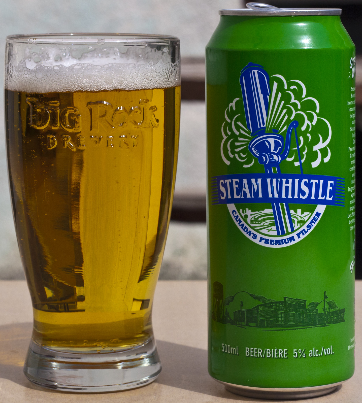 Review: Steam Whistle Pilsner by Cody La Bière
