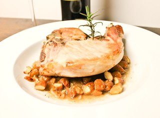 Pork Chop with Sherry and Almonds | by SeppySills