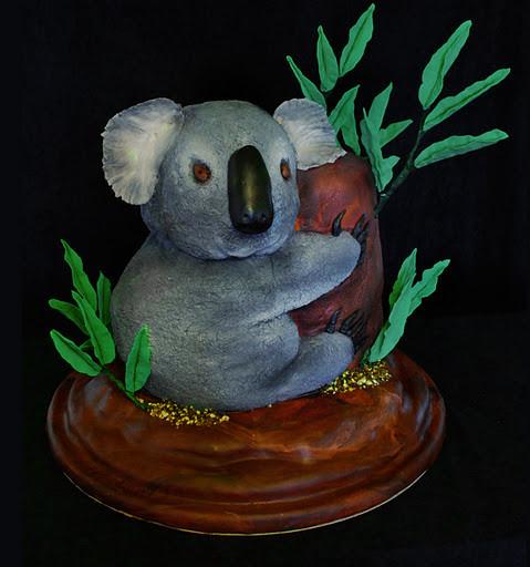 Koala Bear Cake Cake I Made For A 10 Year Old Girl Base