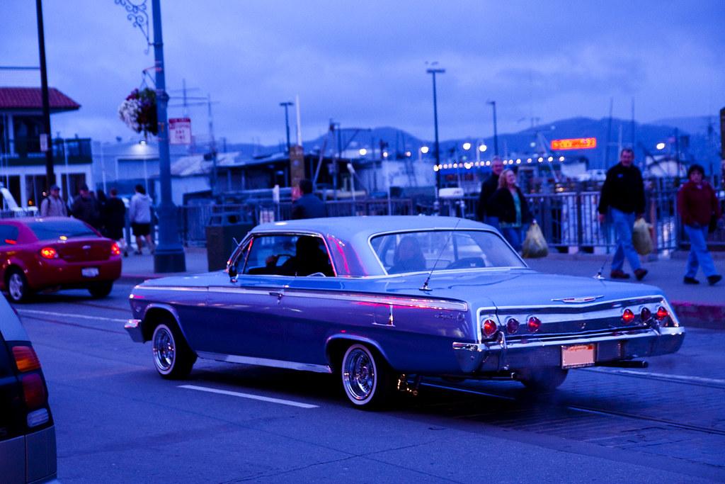 1962 Chevy Impala Lowrider Blue Vim Chand Flickr