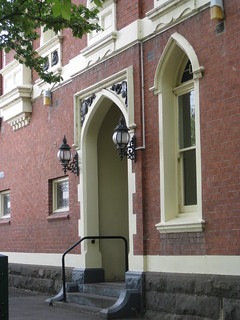 Entrance to the Former Residence and Consulting Rooms of for Dr. Emil Guthiel – Corner Sturt and Errard Streets, Ballarat