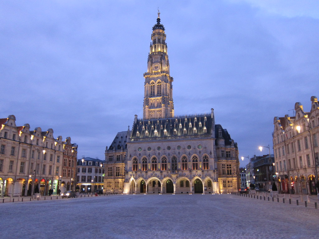 arras france town hall and main square in arras nord pa flickr. Black Bedroom Furniture Sets. Home Design Ideas