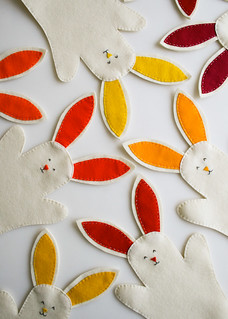 Molly's Sketchbook:  Bunny Hand Puppets | by the purl bee