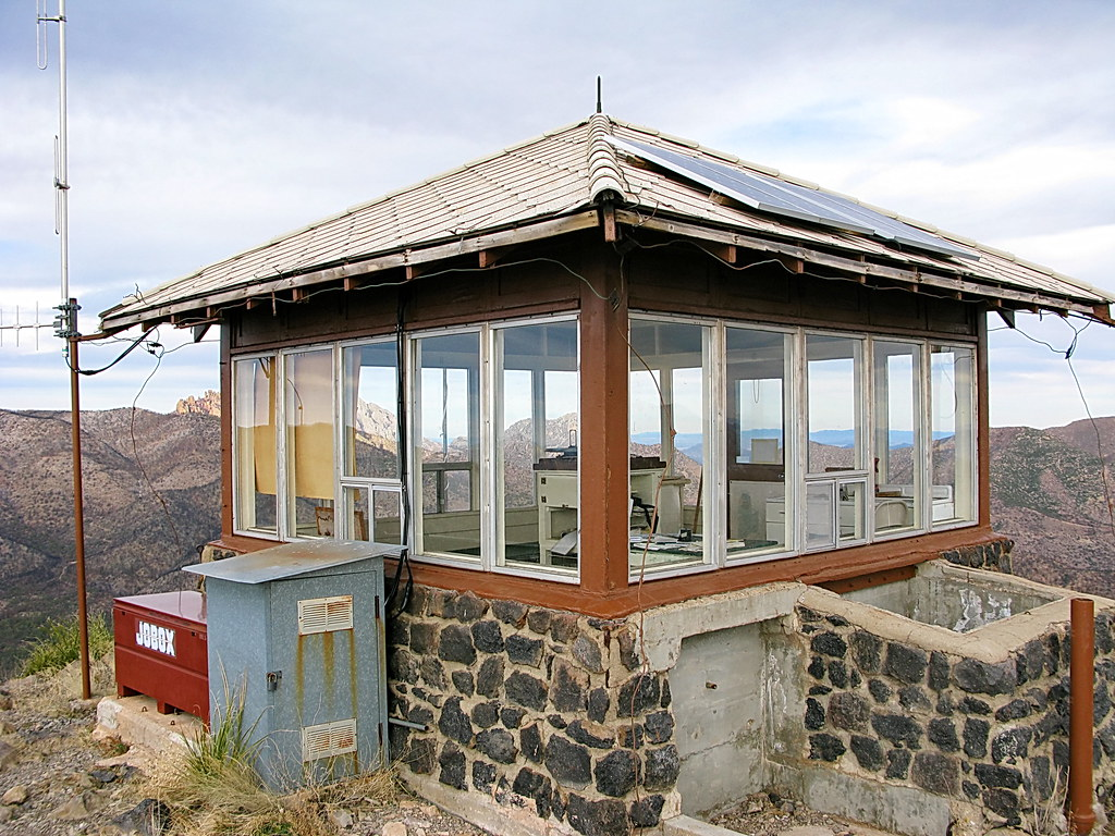 Sugarloaf Mountain Fire Lookout Cabin Chiricahua Nationa