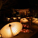 Japanese umbrella & Bamboo lanterns