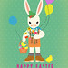 Bunny boy easter