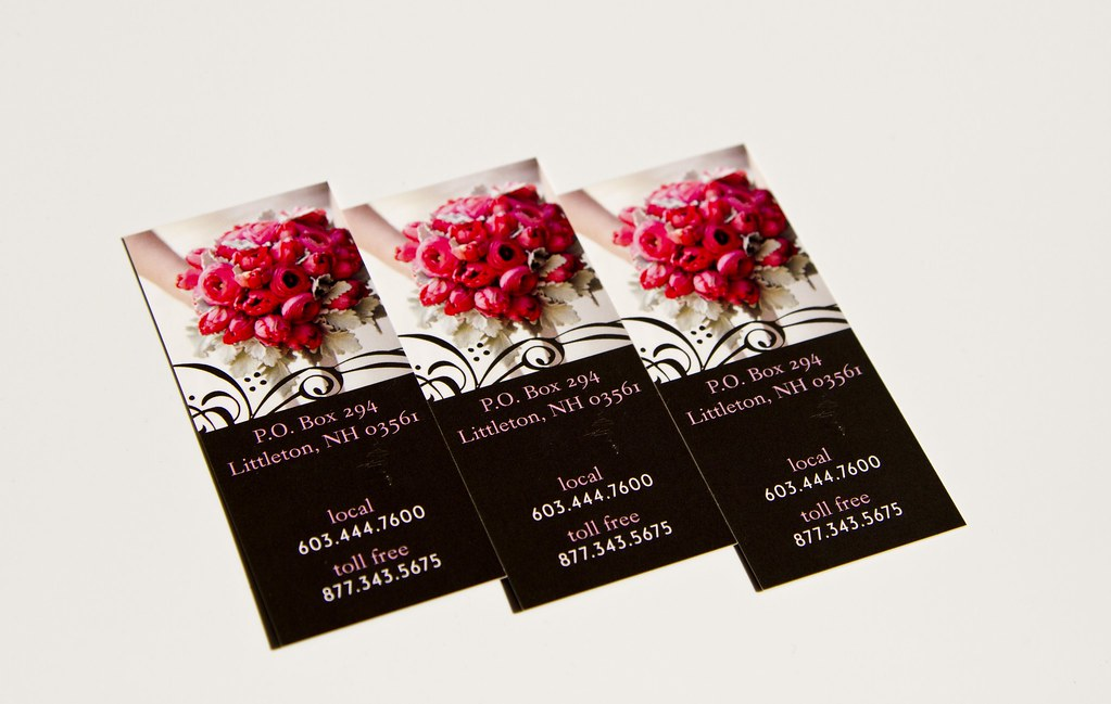 Flower shop business cards once you see this card you for Flower business cards