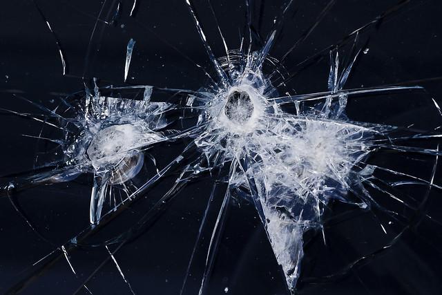 Texture International R 130 Broken Window 1 Of 3