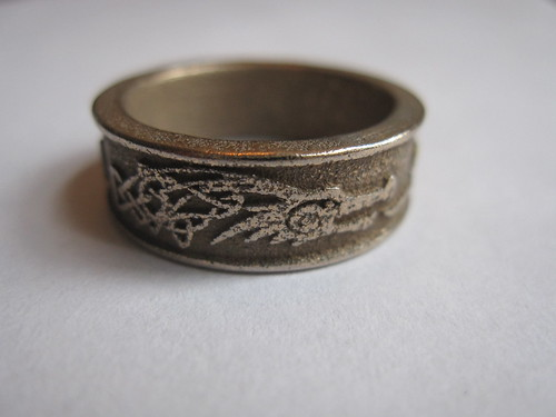 Elder Scrolls V Skyrim ring, Dragonborn 1 | by Creative Use of Technology