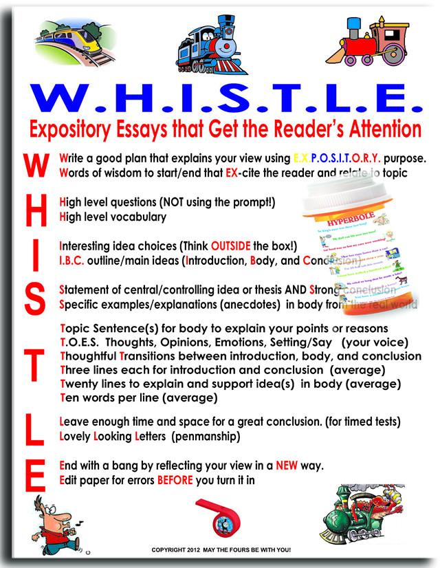 Expository essays written by kids