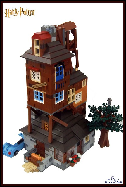 lego harry potter the burrow flickr photo sharing. Black Bedroom Furniture Sets. Home Design Ideas