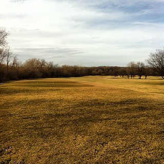 First hole of year | by davemehrman