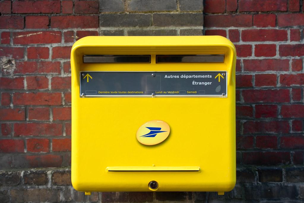 Bo te aux lettres de la poste bo te aux lettres de la post flickr - Boites aux lettres la poste ...