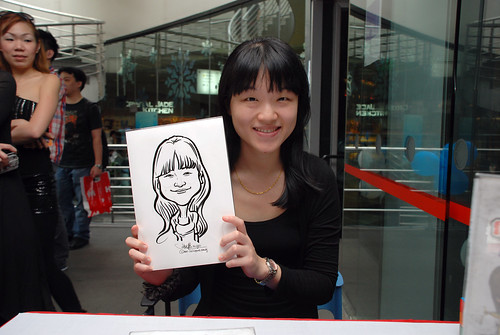 Caricature live sketching for Singapore Suntec City Annual Party - 18 | by jit@portraitworkshop.com