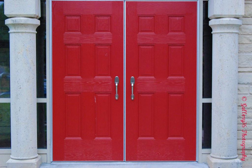 Double Red Doors 5 In The Red Door Series Lori Shackelford Flickr
