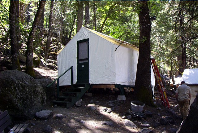 Tent Cabin At Camp Curry