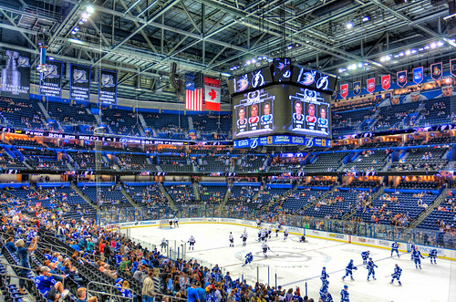 Tampa Bay Lightning Warmups | by Photomatt28