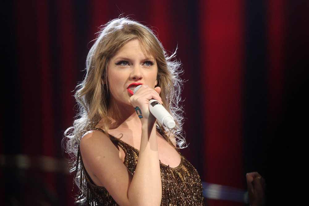 Taylor Swift performs on her 'Speak Now' tour in Sydney, Australia, in March 2012.