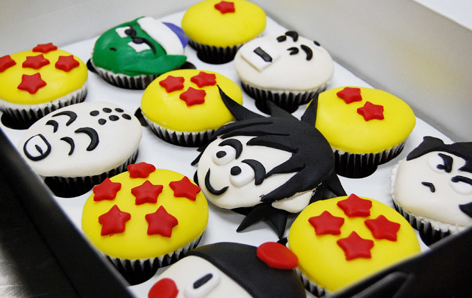 Dragon Ball Z Cupcakes Animated Cupcakes Flickr