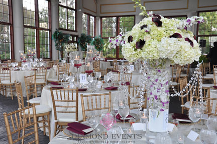 Grand Conservatory Of Raspberry Plain Set For A Wedding Re