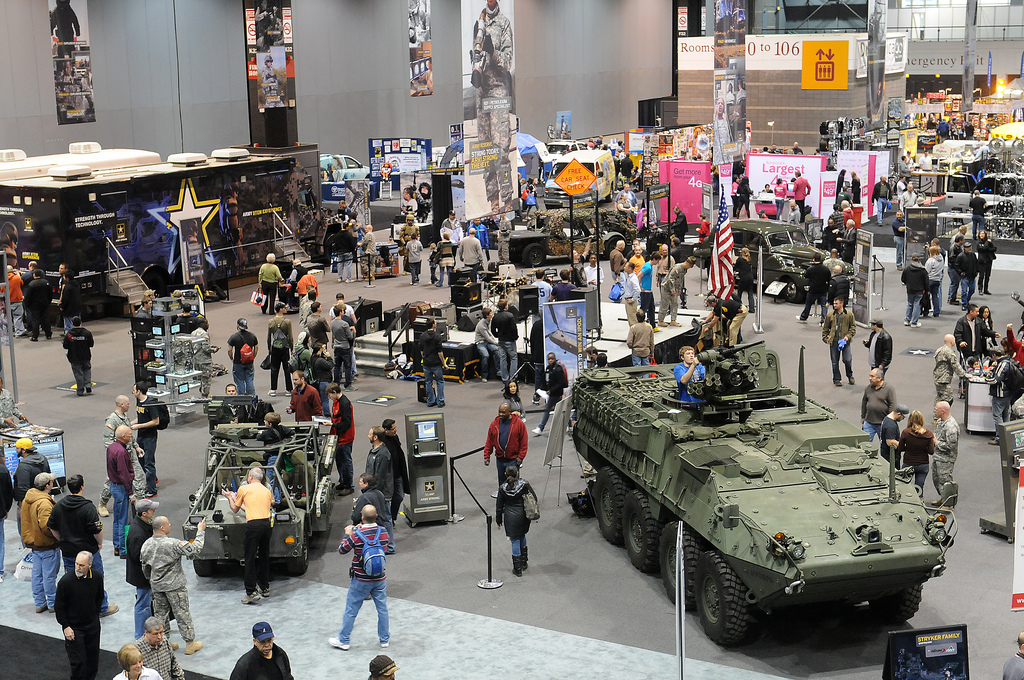 U S Army At Chicago Auto Show 2012 The Army Is