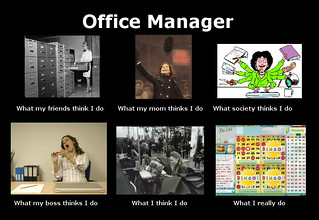 what i do - office manager | by PantsPeople