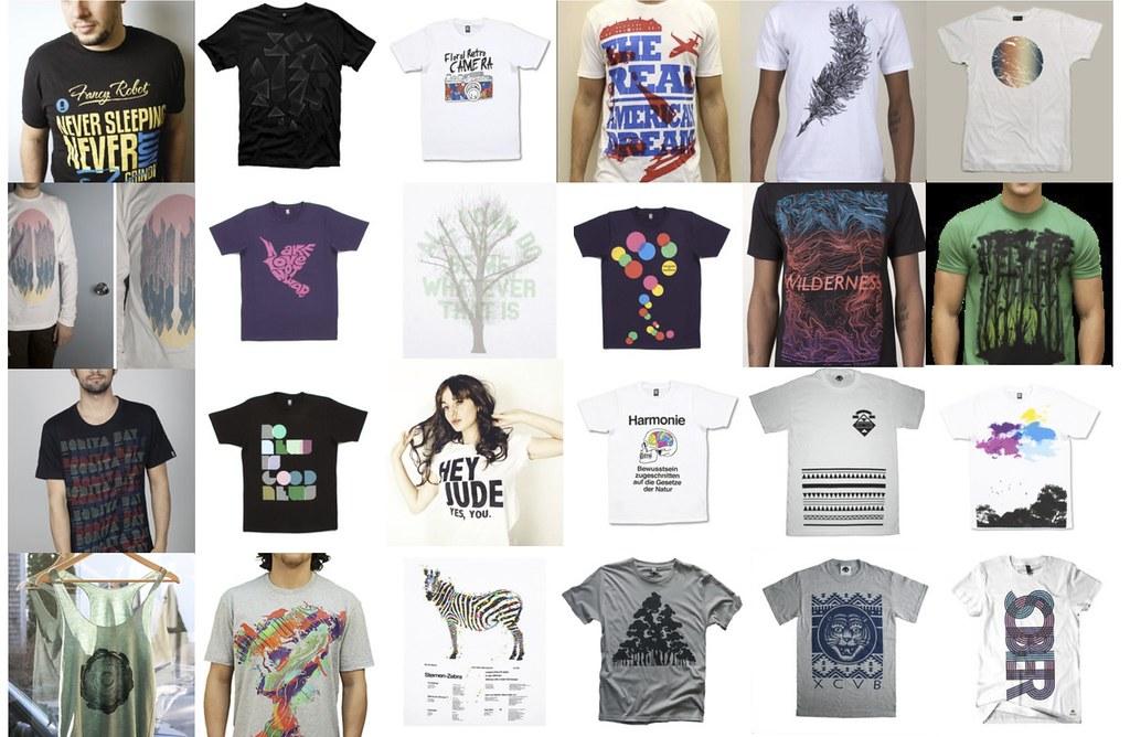 Mood board t shirt design inspiration julielesseg flickr for Company t shirt design inspiration