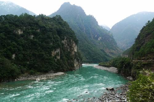 Салуин Река Нуцзян