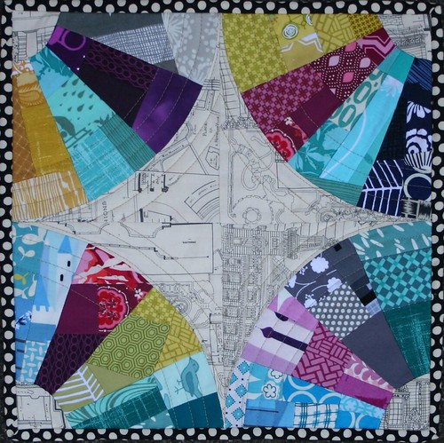 Stained Glass Window--Fab Little Quilt Swap | by katie@swimbikequilt