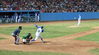 Industriales Player - Foul Ball - See the ball | by BlueVoter - thanks for 1.2M views