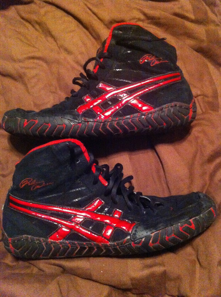GONE: Asics Rulon wrestling shoes | Great condition sz10 ...