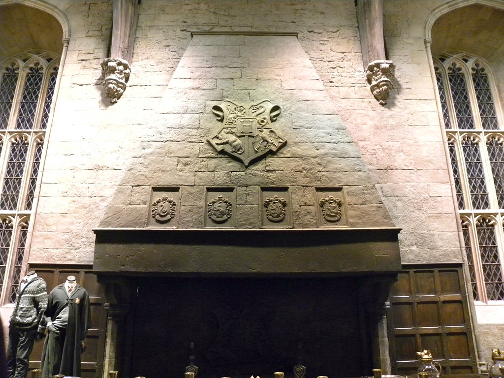 Harry Potter Studio Tour Great Hall Fireplace Rev Stan