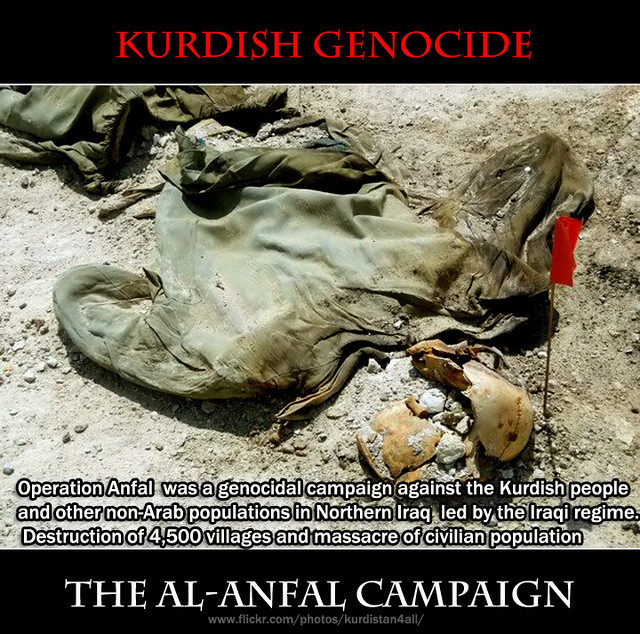 genocide al anfal Al anfal, which is arabic for the spoils of war, is the name of the eighth sura, or chapter, of the qur an it tells a tale in which followers of mohammed.