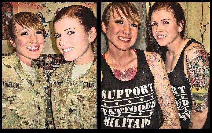Tattooed Military Tattooed Troops Support Tattooed Milita Flickr