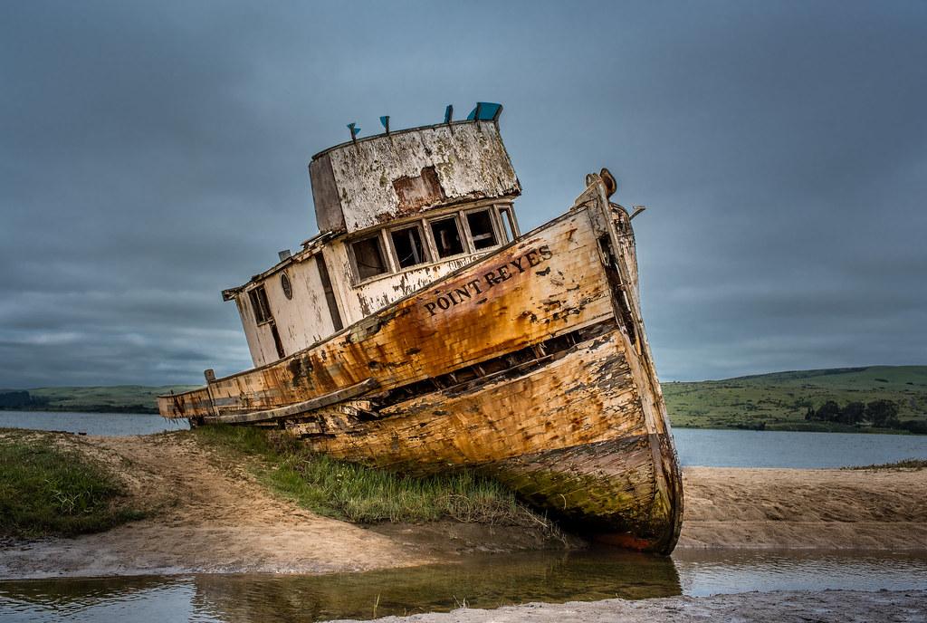 Point Reyes Ship Wreck Point Reyes National Seashore