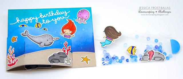 Underwater Bendi Card