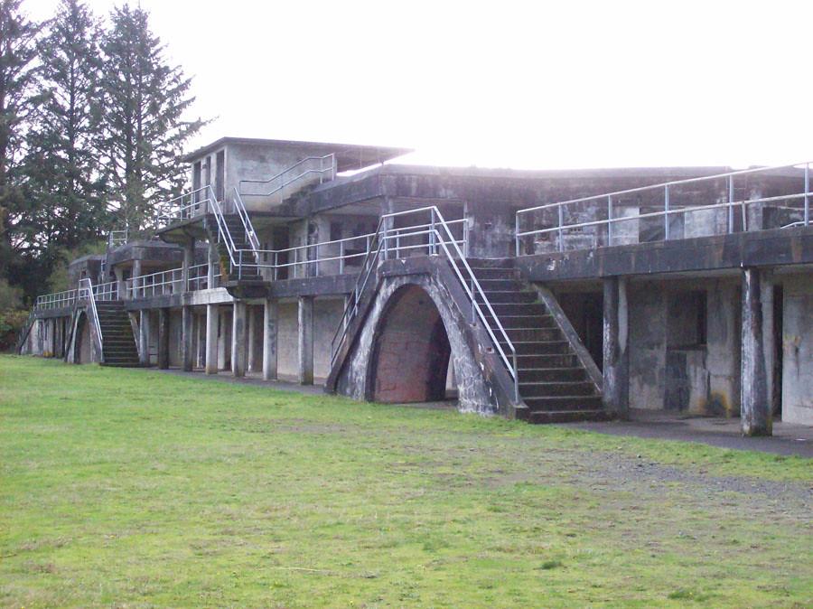 Battery Russel Fort Stevens State Park Astoria Oregon