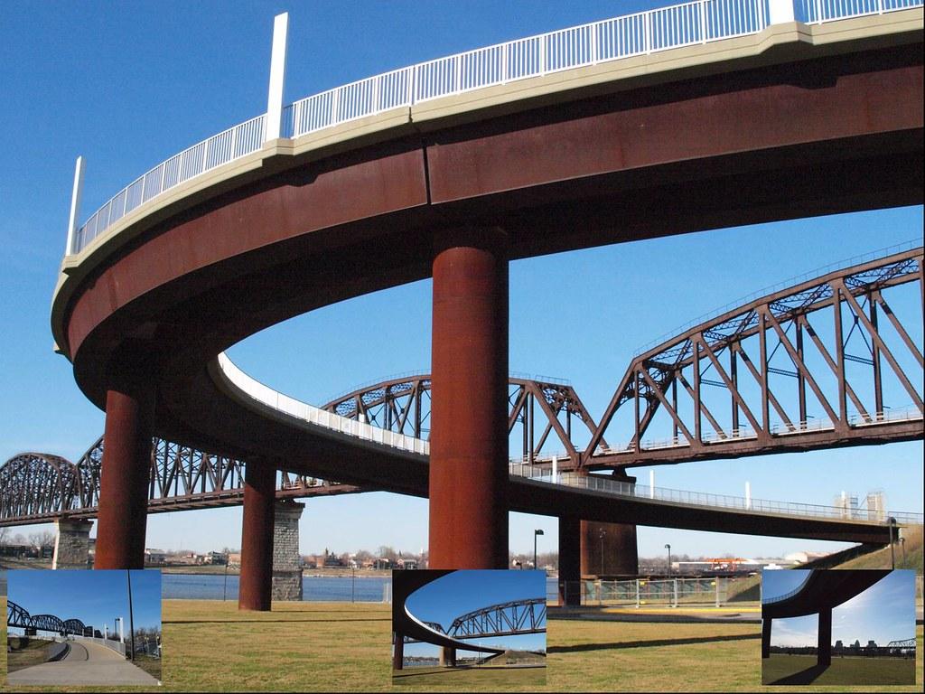Big Four Bridge Downtown Louisville S Big Four