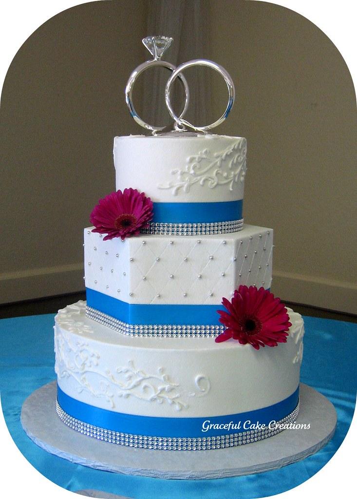 Wedding Cake In Pewter
