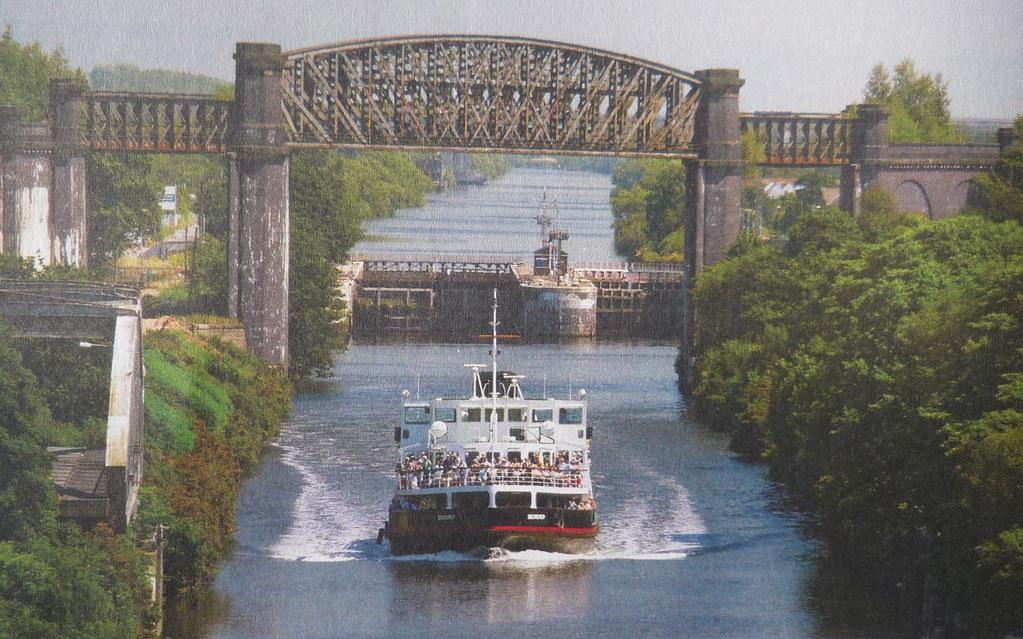 Manchester Ship Canal  Manchester Ship Canal Cruise Via
