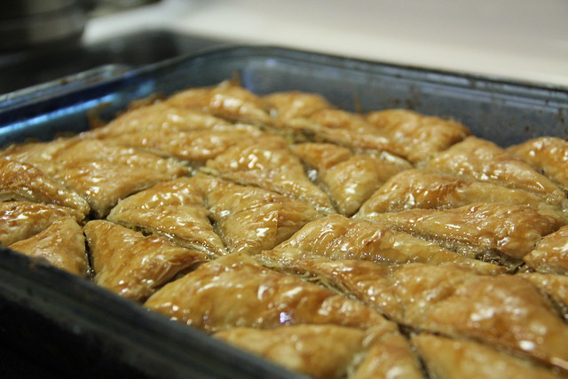 Orange Blossom Water Baklava